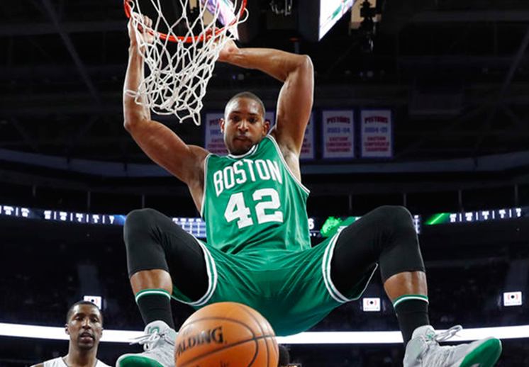 EL FACTOR AL HORFORD de boston celtics causa estragos