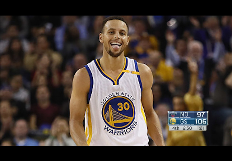 Stephen Curry rompe record de tiros de 3 puntos