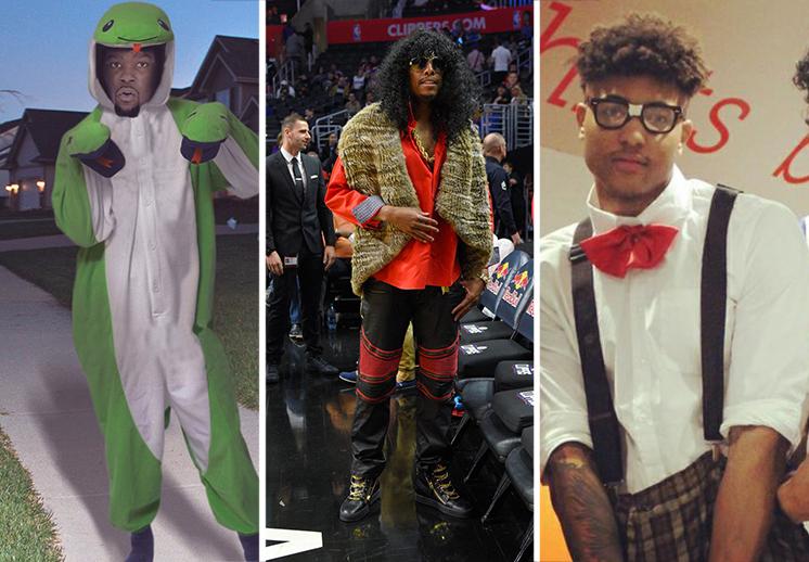 Noche de Halloween en la NBA.