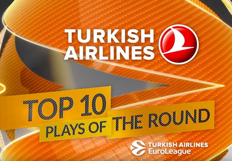Las 10 mejores jugadas en la Euroleague