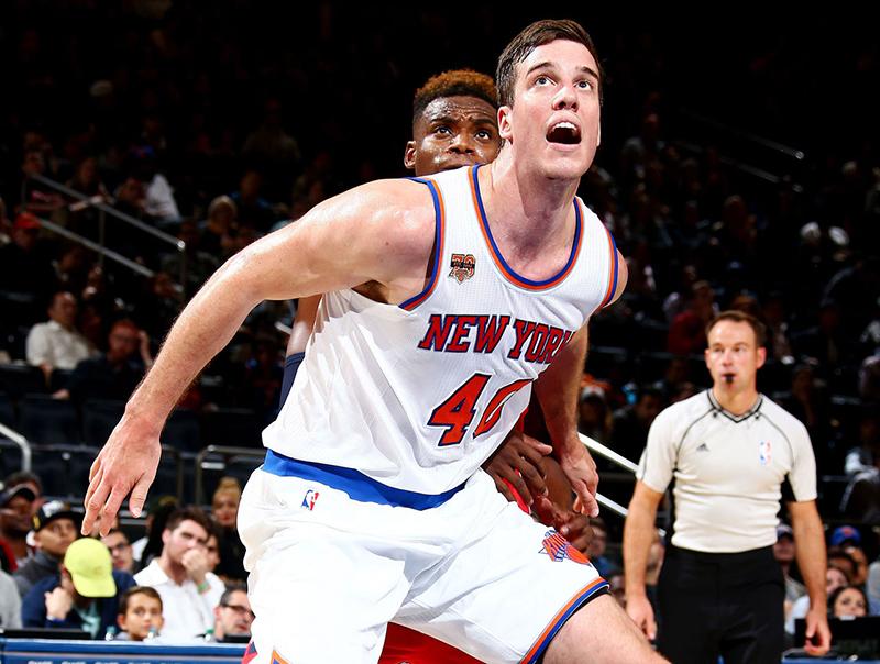 La aventura de Marshall Plumlee por debutar con los Knicks
