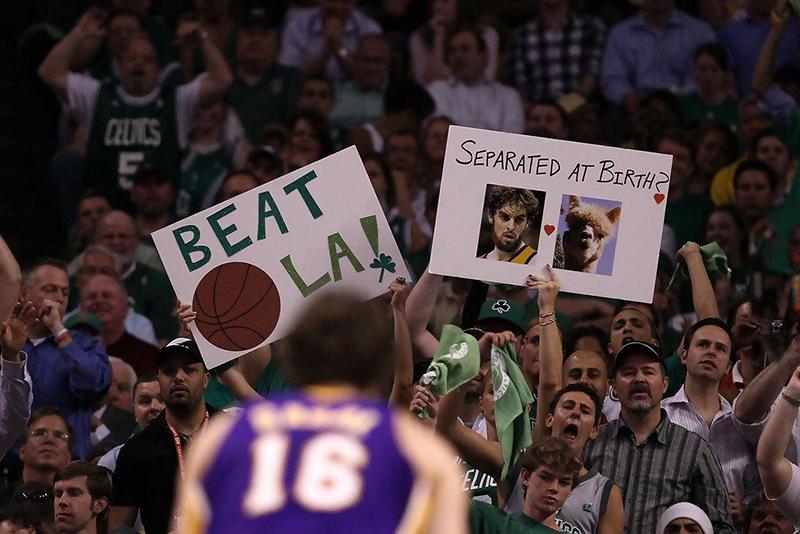 Los fans bulleadores de la NBA foto 6