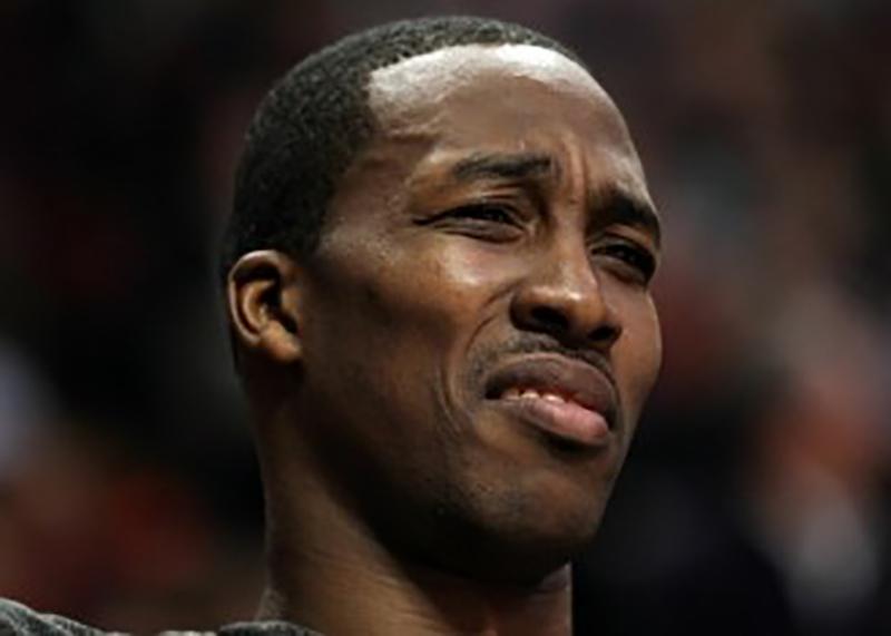 dwight howard, Los más llorones de la NBA