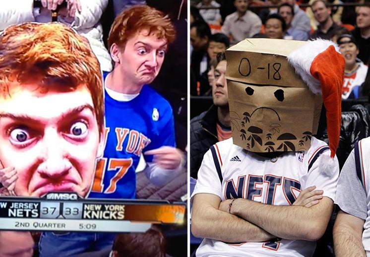 Los fans bulleadores de la NBA