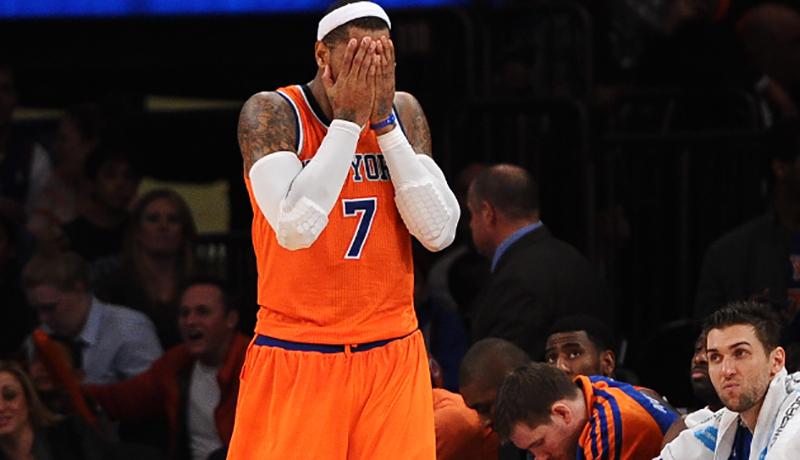 carmelo-anthony, Los más llorones de la NBA