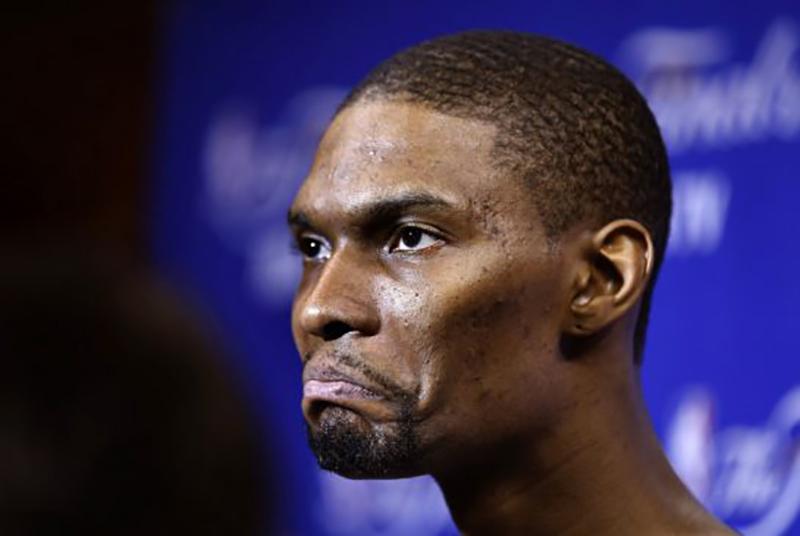 chris bosh, uno de Los más llorones de la NBA