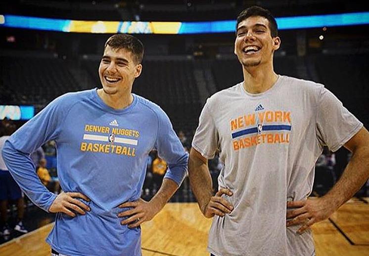 El primer enfrentamiento de los Hernangómez en la NBA
