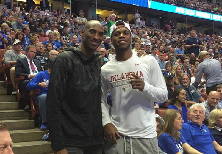 El entrenamiento de Buddy Hield con Kobe Bryant