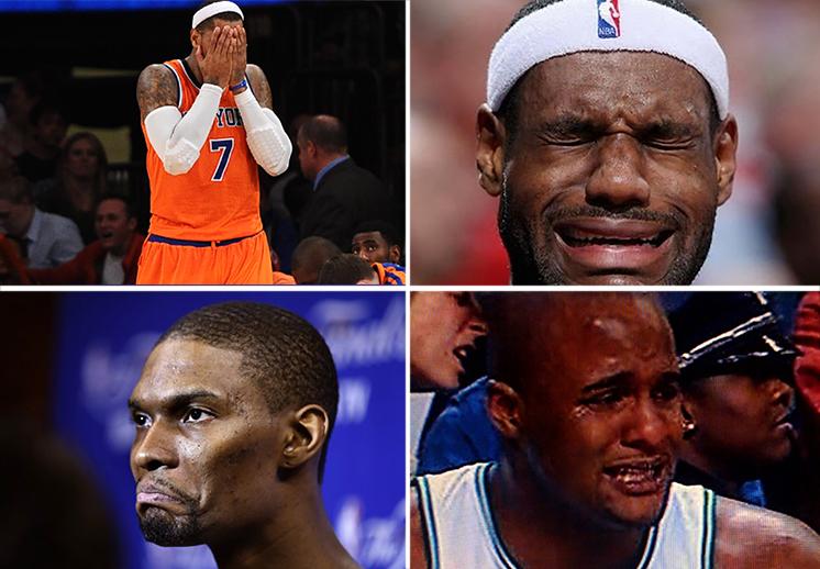 Los más llorones de la NBA