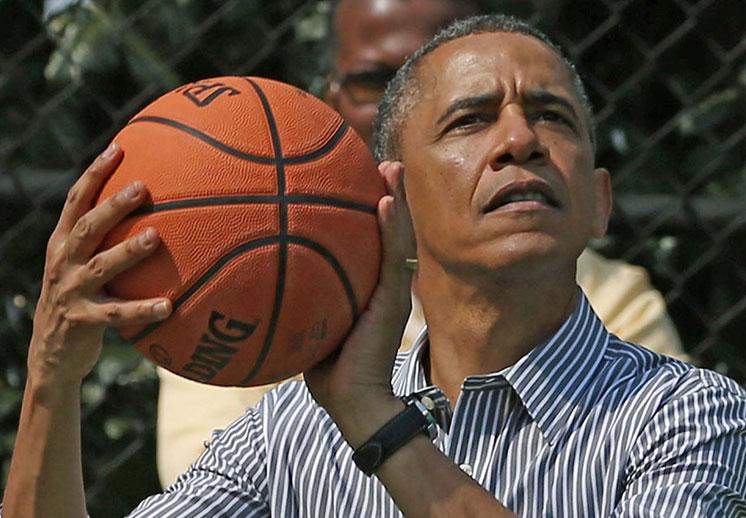 Kendrick Lamar retó a Barack Obama a un juego de basquetbol