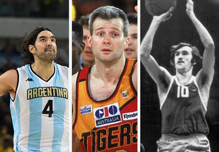 Los 6 mejores anotadores olímpicos de la historia.