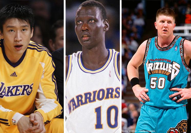 Los peores jugadores en la historia de la NBA