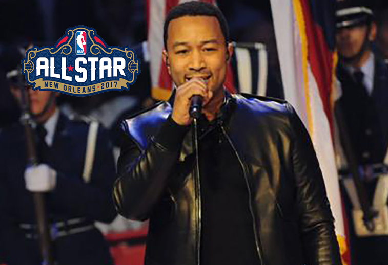 John Legend pondrá la música en el NBA All-Star Game 2017