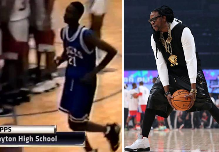 El rapero 2 Chainz y su carrera en el basquetbol