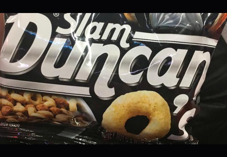 Cereal edición especial de Tim Duncan