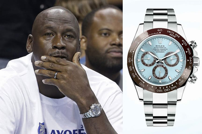 La Vida Millonaria de MJ y su relojes caros