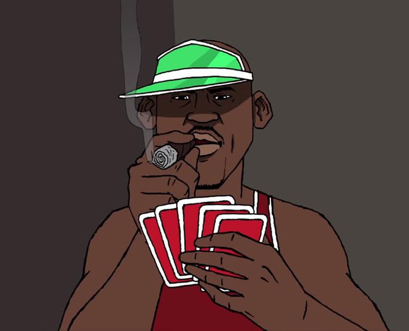 ilustracion de La Vida Millonaria de MJ