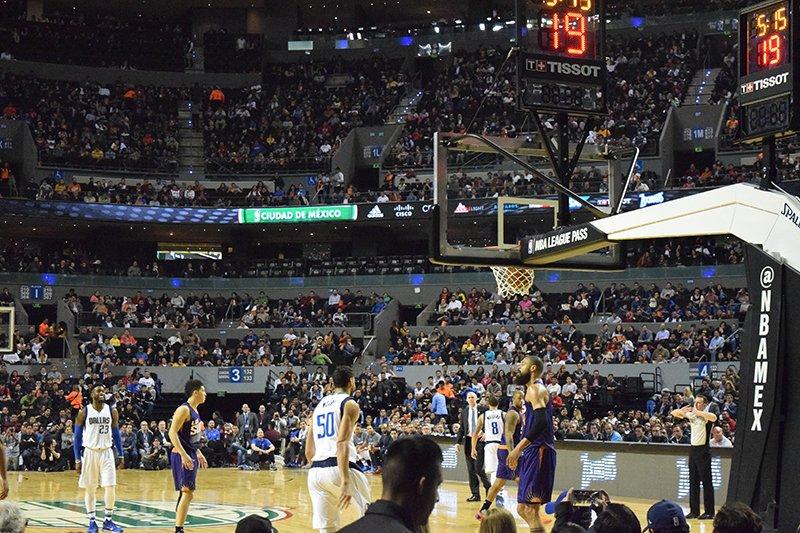 Suns y Mavericks hicieron vibrar a México en el NBA Global Games CDMX