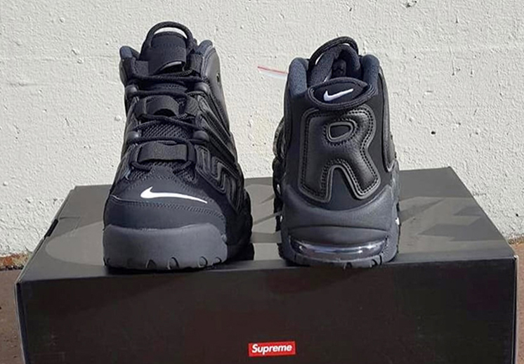 "Supreme x Nike Air More Uptempo. ""Suptempo"""