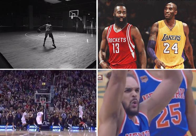 Ridículo total de Joakim Noah, Jardem y Kobe, westbrook mete tiro ganador, jugador de basquet
