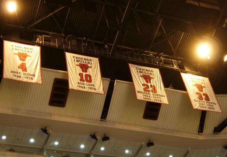 Números retirados de la NBA.
