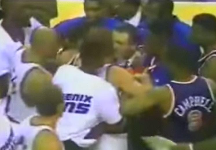 Flashback: La campal entre los Knicks y Suns