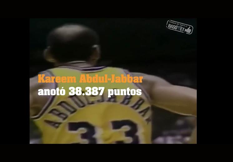 El mayor anotador de la NBA.