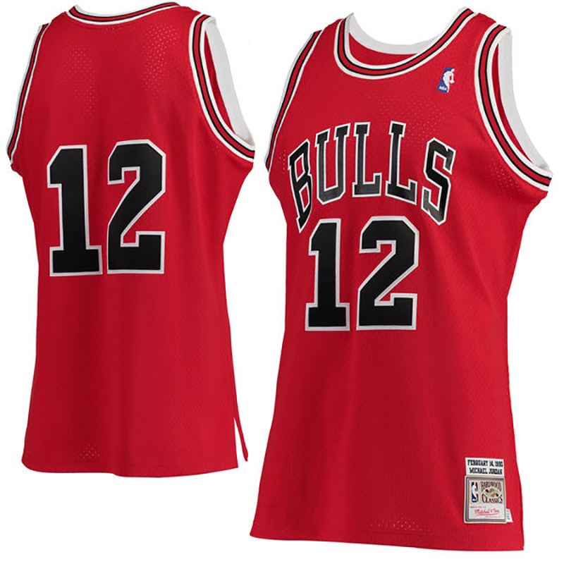 acheter en ligne 32b42 e94db El célebre jersey 12 de Michael Jordan | Viva Basquet