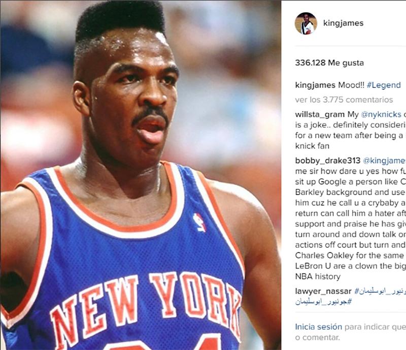 Todos contra los Knicks, en defensa de Oakley foto 3