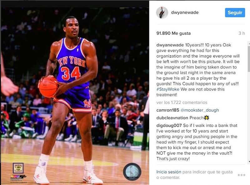 Todos contra los Knicks, en defensa de Oakley