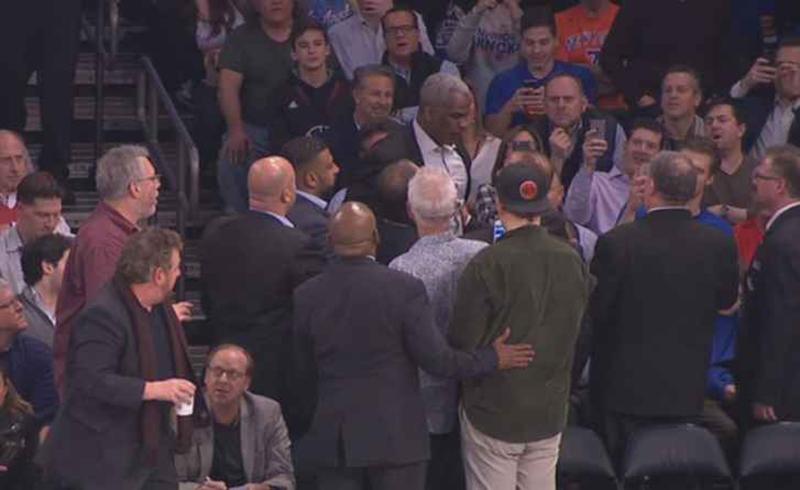 Michael Jordan y el Comisionado Adam Silver ponen orden con los Knicks