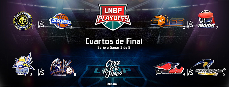 Definen playoffs en la LNBP
