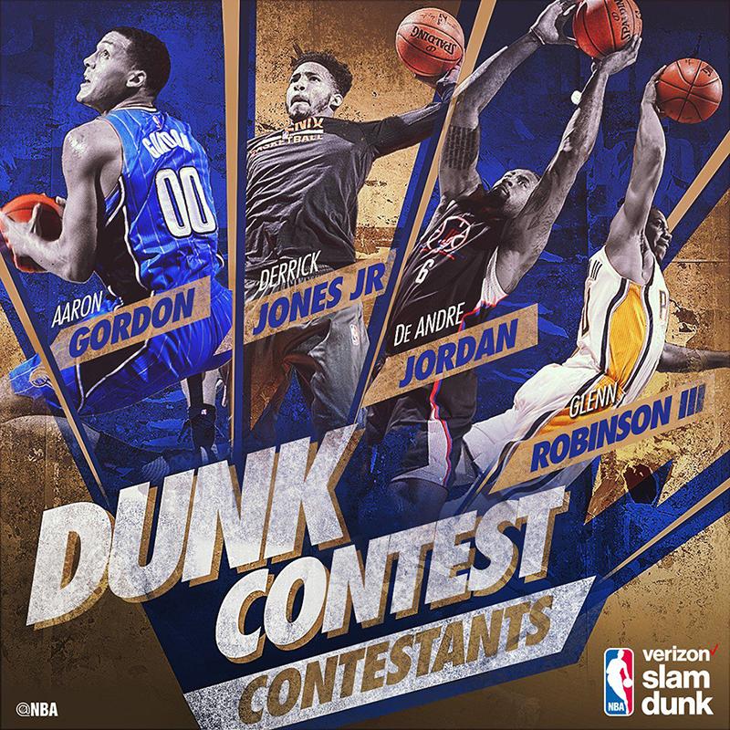 DeAndre Jordan va por el título del Slam Dunk Contest