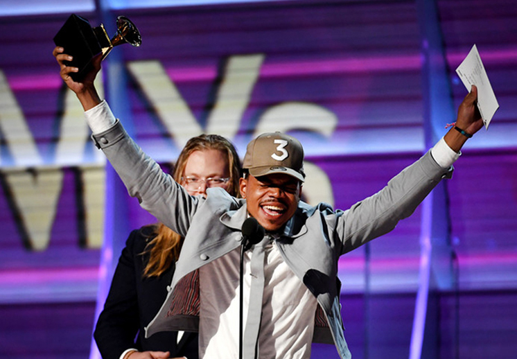 La NBA se felicita a Chance The Rapper por sus Grammys