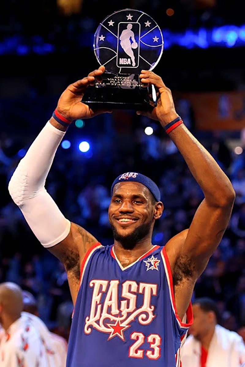 lebron NBA MVP. basquet