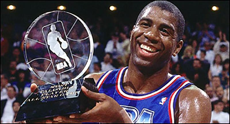 magica NBA MVP. basquet