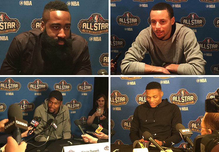 Lo mejor del All-Star Media Day