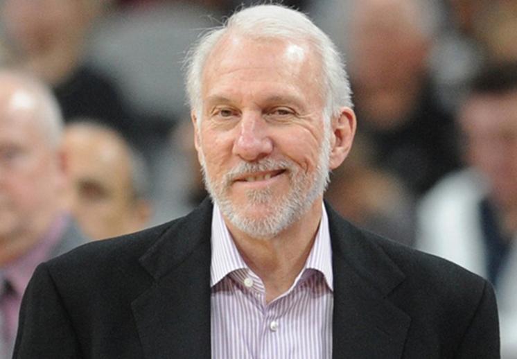 Gregg Popovich que llegó a su victoria 1,127 con los Spurs thumbnail