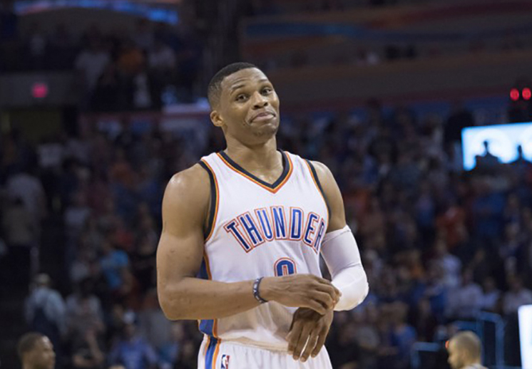 Russell Westbrook sigue sumando triples-dobles