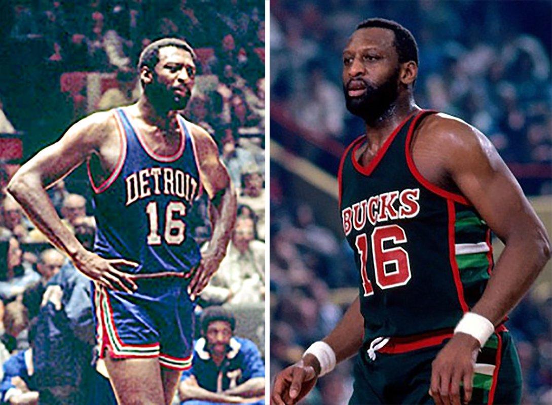Bob Lanier: Los Pistons y Milwaukee Bucks le retiraron su número 16.