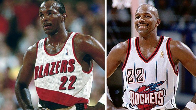 ClydeDrexler: Su número 22 fue retirado por los Blazers y por los Rockets en viva basquet
