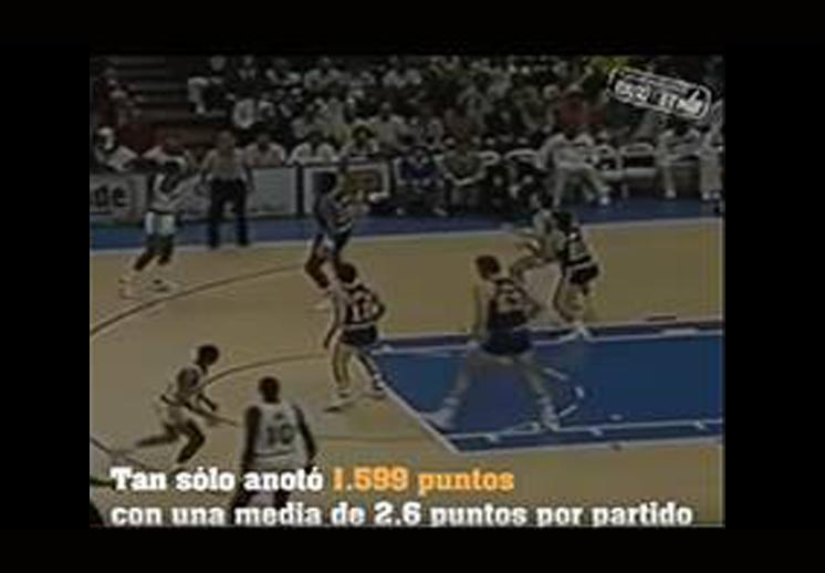 El extraño récord de Manute Bol.