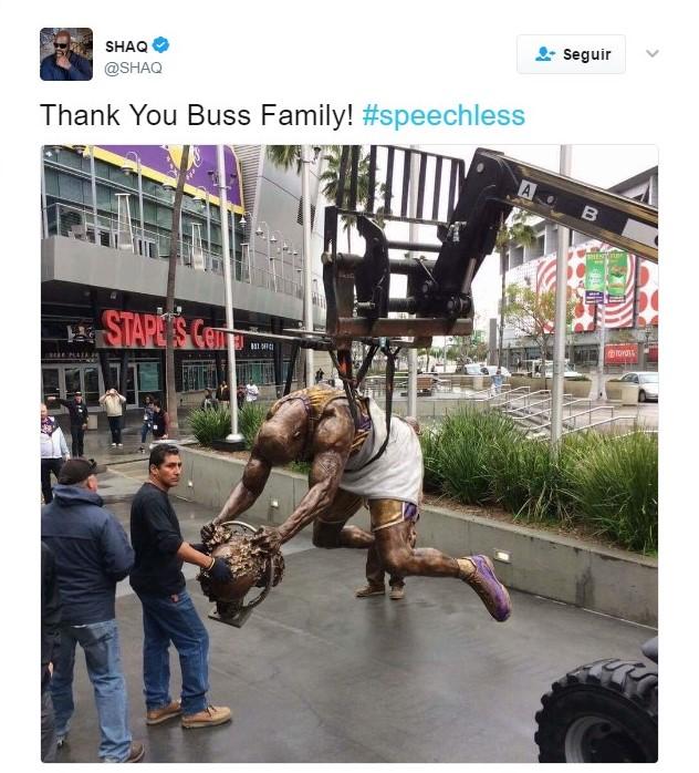 Los Lakers preparan la fiesta para Shaq