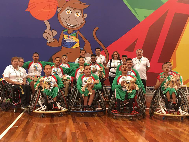 México consigue plata en Parapanamericanos Juveniles Sao Paulo 2017