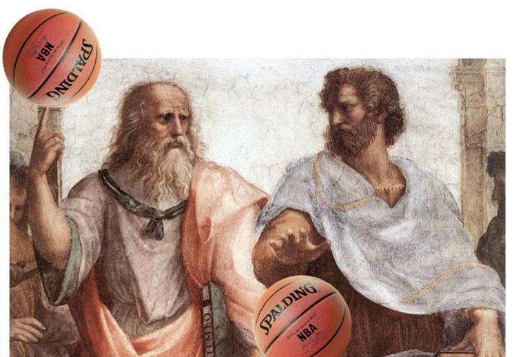 NBA con toque de arte clásico
