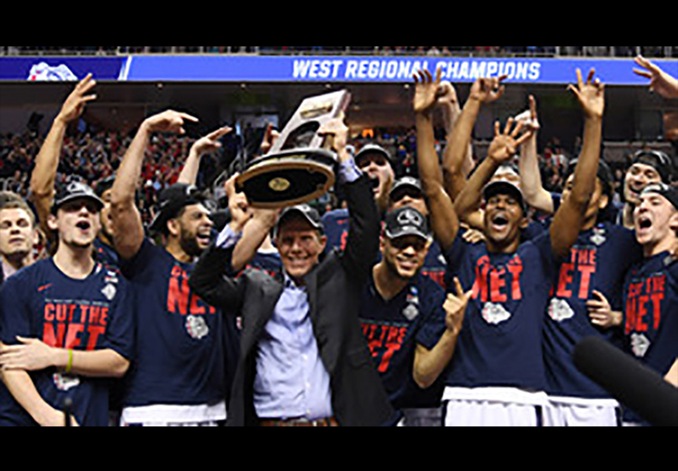 Gonzaga y Oregon van al Final Four de la NCAA