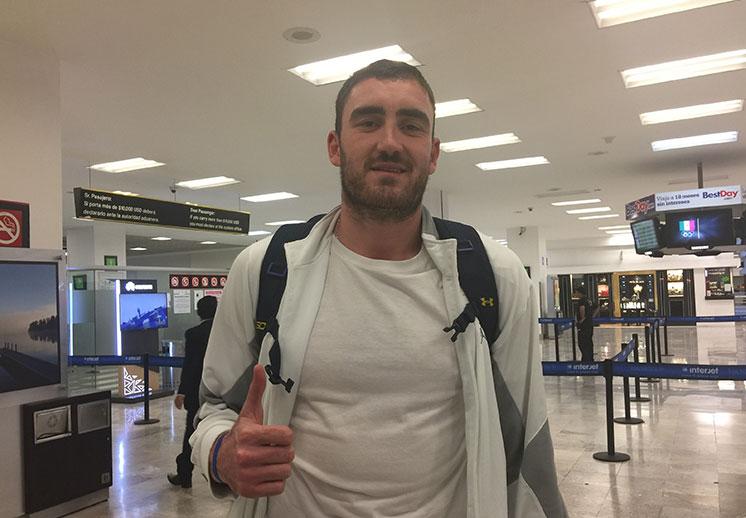 Israel Gutiérrez regresa a Argentina
