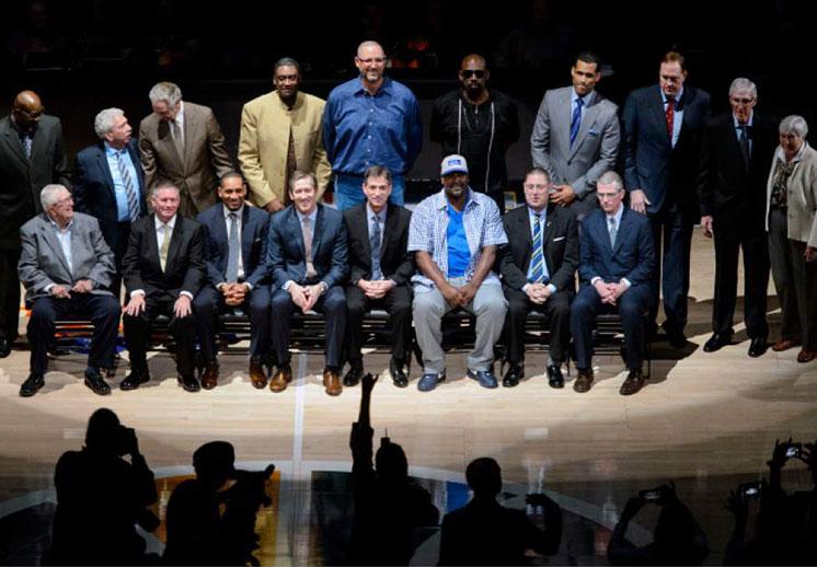 El Jazz reúnió a sus leyendas