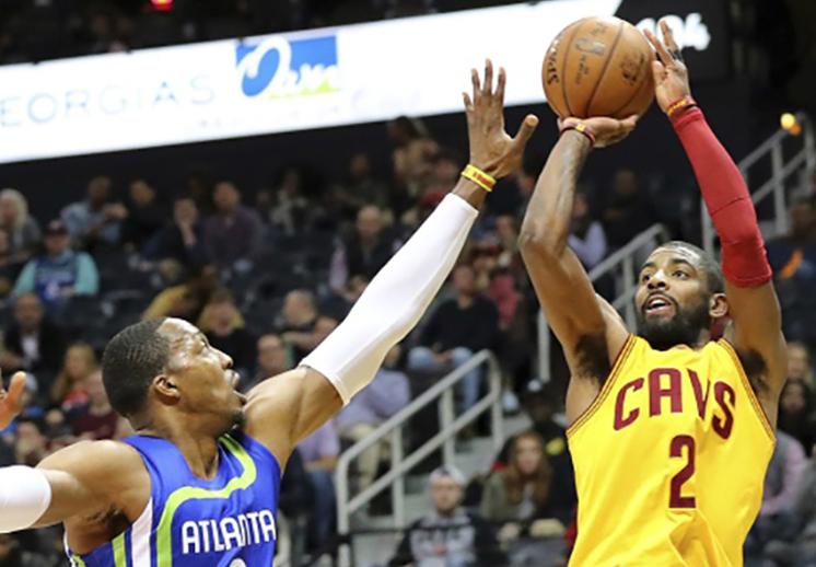 kyrie Irving y los cavs Los Cavaliers imponen récord de triples en la NBA