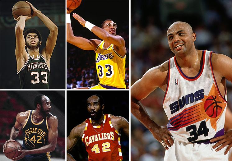 numeros retirados en dos equipos diferentes de la NBA
